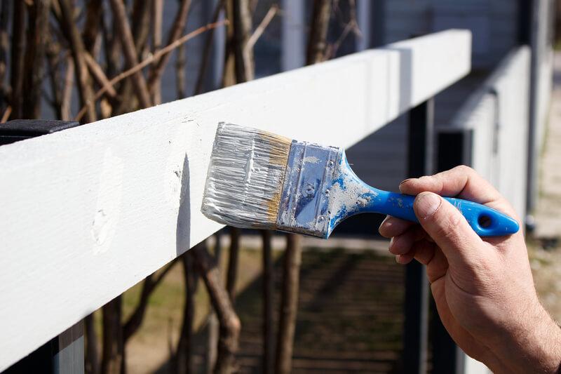 schilderen buiten
