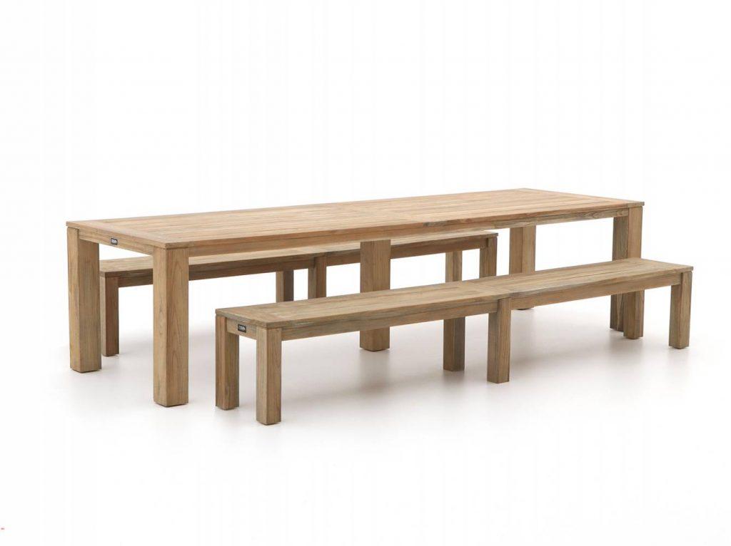 duurzame tuintafel van teak hout