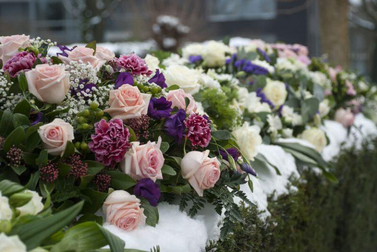 begrafenis boeket